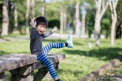 ya~~ (nodie26) Tags: 寶寶 幼兒 兒童 幼童 小朋友 canon baby 小孩子 6d ef 85mm f18 散步 life 花蓮 hualien