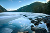 Acadia National Park 1 (BenjaminMichaelMarshall) Tags: d80 benmarshall usa landscape hdr lake water ice cold winter