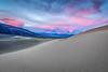 Glow (Kirk Lougheed) Tags: california cottonwoodmountains deathvalley deathvalleynationalpark mesquitedunes mesquiteflat tucki tuckimountain usa unitedstates cloud dawn dune landscape nationalpark outdoor sand sanddune sky sunrise