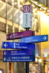 Road Direction Signs (κεηηγsκ™) Tags: hong kong travel holidays central tsim tsu tsui mongkok destination street photography lan kwai fong road signs direction