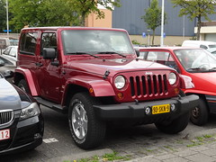 2011 Jeep Wrangler Sahara (harry_nl) Tags: netherlands nederland 2016 eindhoven jeep wrangler sahara 93skn9 sidecode7 wcar