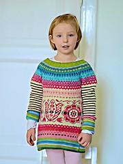 Mini-Tuin (osloann) Tags: mønserstrikk stranded shetlandsoft sweater strikktilbarn ravelry torirotdesign minituin strikking knitting