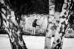 """the artist"" (nelly_tran_photography) Tags: streetart streetcast streetfotografie zürich 2017 graffity sprayer artist"
