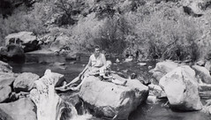 July 1956 (twm1340) Tags: vacation colorado co july 1956 river stream water