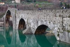 Ponte della Maddalena (Marco_968) Tags: devil bridge ponte diavolo serchio