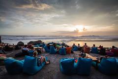 Sunset at Echo Beach Bali (pictcorrect) Tags: bali sunset echo beach canggu surfers island