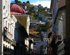 Afternoon in Quito (Mahmoud R Maheri) Tags: city quito ecuador street citycentre capitalcity southamerica urban citylife buildings