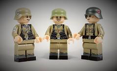 NEW Waffen XX Torsos (Joe Brick) Tags: lego wehrmacht waffen ss panzer custom soldaten