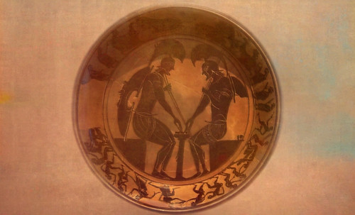"Petteia - Ludus Latrunculorum  / Iconografía de las civilizaciones helenolatinas • <a style=""font-size:0.8em;"" href=""http://www.flickr.com/photos/30735181@N00/32522205945/"" target=""_blank"">View on Flickr</a>"