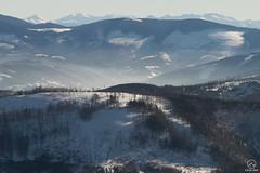 Beskid Żywiecki. W tle Tatry Zachodnie i Rohacze (czargor) Tags: wgoryzima zima skituring beskidy beskidslaski skrzyczne tatry