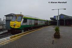 224 at Cork, 29/1/17 (hurricanemk1c) Tags: railways railway train trains irish rail irishrail iarnród éireann iarnródéireann 2017 generalmotors gm emd 201 224 1000heustoncork cork