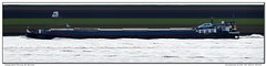 Zuiderzee (Morthole) Tags: slitscan ship boat schip boot barge binnenvaart schiff rheinschiff zuiderzee bulk vrachtschip
