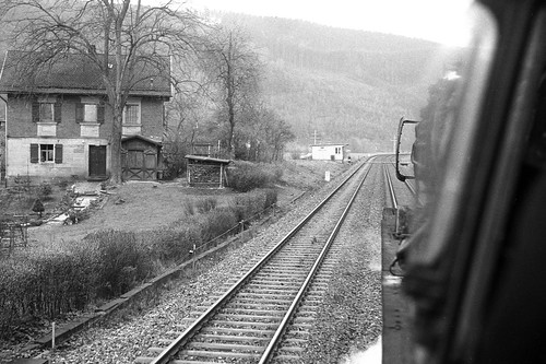 Cab ride 001 111 past Kulmbach