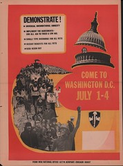 VVAW Come to DC: 1974 (Washington Area Spark) Tags: vietnam veterans against war vvaw demonstration protest picket rally march encampment july 1974 washington dc pentagon justice court capitol white house