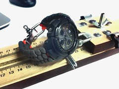 Paracord band for G-Shock (Falfrir) Tags: watchband paracord