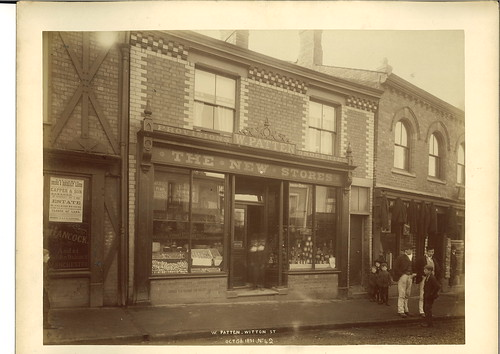 William Patten, grocer, 18 Witton Street