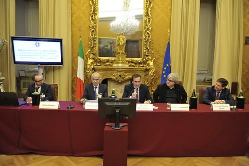 7/3/2017, Camera dei Deputati: Edoardo Croci con Stefano Dambruoso ed Ermete Realacci