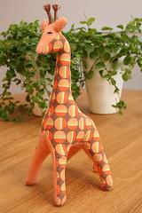 Giraffe (Craft & Creativity) Tags: animal toy creativity toys stuffed handmade craft explore softie softies giraffe