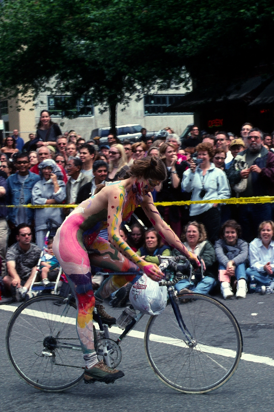 Practical Matters // 2001 seattle naked parade fremont june bicycle nude ...