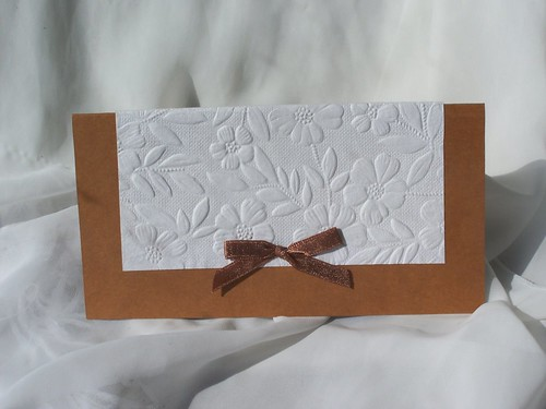 I know what you are thinking homemade wedding invitations