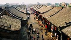 pingyao east street - by GraemeNicol