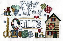Patches & Pieces (Fl Rocha [Neguinha Suburbana]) Tags: crossstitch crafts artesanato pontocruz