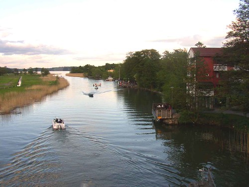 Boats in Tappström channel