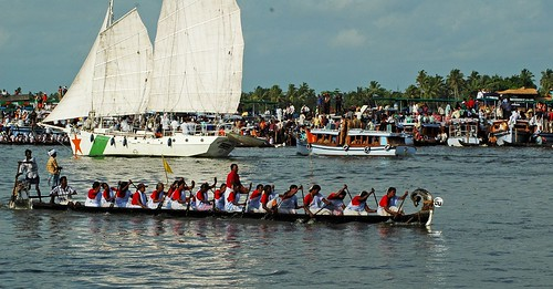 Alleppey boat Race - Women
