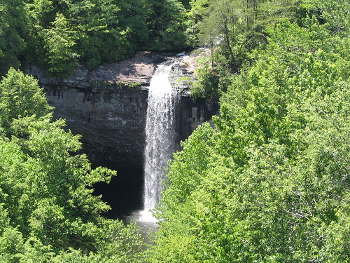 Foster Falls - as seen from above.