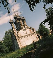 Small church in Nizhni Novgorod
