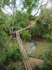 DSC00915 (Laosphilippines) Tags: forest river jungle laos brigde woodenbrigde