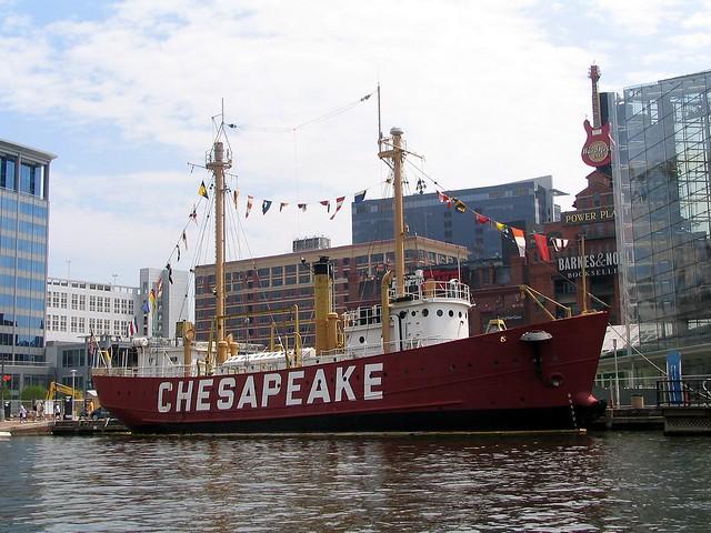 The Chesapeake in Baltimore