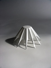 Model (Richard Sweeney) Tags: sculpture art nature paper paperart origami fineart craft cutpaper folded organic spines spikey paperfolding folding papercraft naturalform papersculpture artsculpture paperstructure richardsweeney architecturalorigami