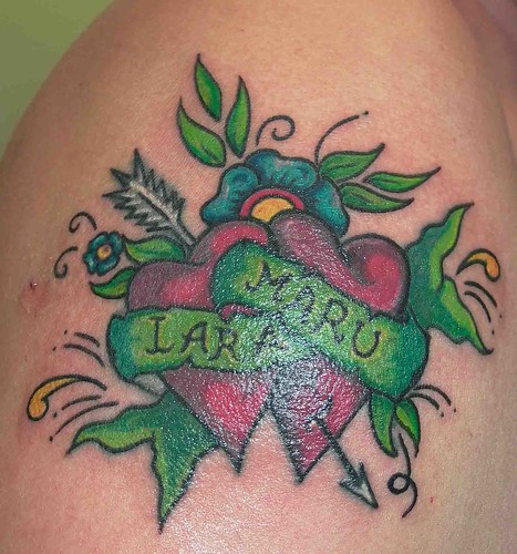 Tatuaje Cover Up Corazones Pupa Tattoo Granada. Pupa Tattoo Art Gallery