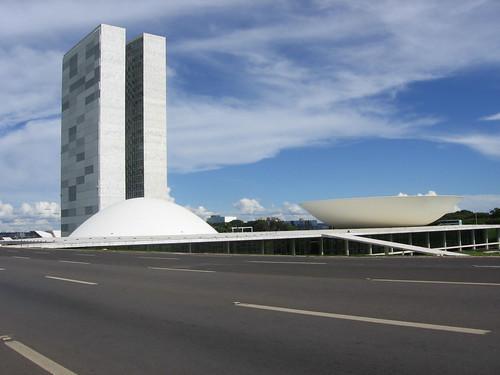 Congresso Nacional, Brasília por xenïa antunes.
