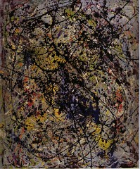 Pollock, Reflection of the Big Dipper, 1947 (cacahuete & ananas) Tags: pollock abstractexpressionism