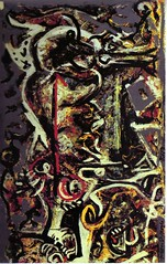Pollock, The She-Wolf, 1943 (cacahuete & ananas) Tags: pollock abstractexpressionism