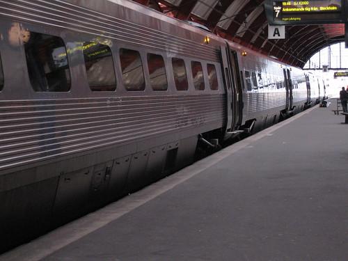 Swedish X2000 train