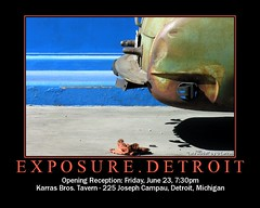 EXPOSURE.Detroit (O Caritas) Tags: fdsflickrtoys detroit exhibit invitation groupshow june23 exposurenetwork exposuredetroit karrasbrostavern exposuredetroit20060623