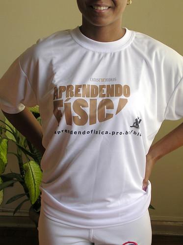 Camiseta Aprendendo Fisica