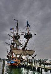 Tallship Kalmar Nyckel (` Toshio ') Tags: festival harbor ship sails maryland annapolis 31 tallships hdr 1on1 toshio citydock kalmarnyckel