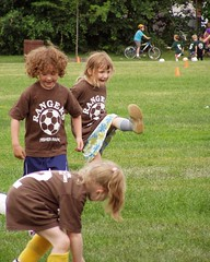 High Kick! (m.gifford) Tags: soccer hazel