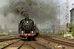 D  24 009 Osnabruck 05-09-2004 (peters452002) Tags: train germany nice smoke eisenbahn railway zug trains olympus db steam bahn railways osnabrck trein spoor steamtrain dampflok dampflokomotive lokomotive treinen stoom dampf peters452002