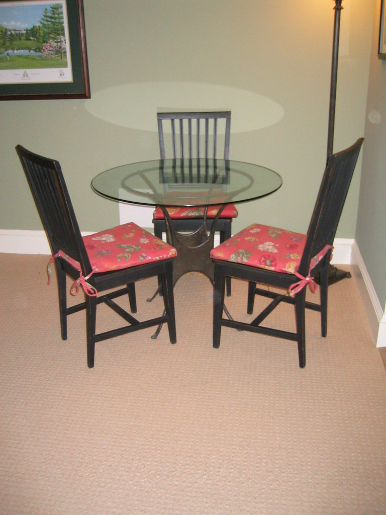 Table  (chairs are sold)