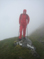 Me in red (ejbaurdo) Tags: knoydart mallaig isleofrum