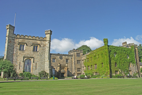 Towneley Hall - the North East Front