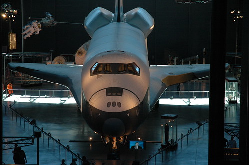 Space Shuttle Enterprise From Above