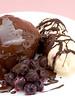 Chocolate Puddings (HelenPalsson) Tags: food cooking dessert chocolate pudding blueberries ciocolata 20060721