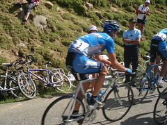 Col du Glandon and Hincapie