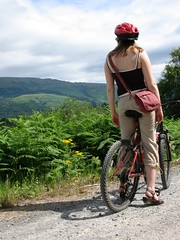 Bike ride around Loch Ard (peekypokey) Tags: scotland lochard altskeith